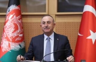 Dışişleri Bakanı Çavuşoğlu: Afganistanlı kardeşlerimiz...