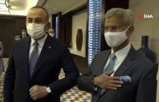 Dışişleri Bakanı Çavuşoğlu, Hindistanlı mevkidaşı...