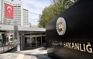 Dışişleri Bakanlığı: ABD'nin Türkiye İnsan...