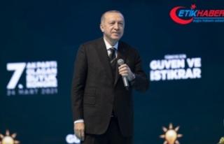 Erdoğan, AK Parti Genel Başkanlığına yeniden...