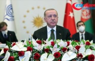 Erdoğan: Ekonomik İşbirliği Teşkilatı Ticaret...