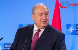 Ermenistan Cumhurbaşkanı Sarkisyan, genelkurmay...