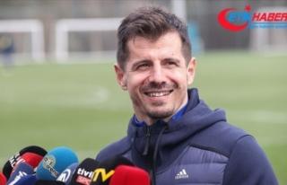 Fenerbahçe Teknik Sorumlusu Emre Belözoğlu: Hayalim...