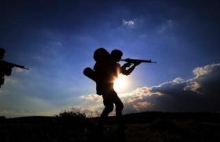 Fırat Kalkanı bölgesinde 3 PKK/YPG'li terörist...