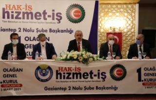 Hak-İş Genel Başkanı Mahmut Arslan'dan yeni...