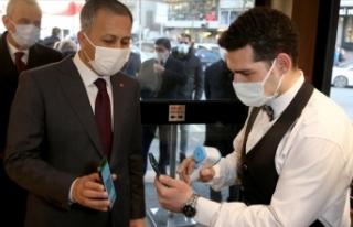 İstanbul'da koronavirüs salgınıyla mücadele...