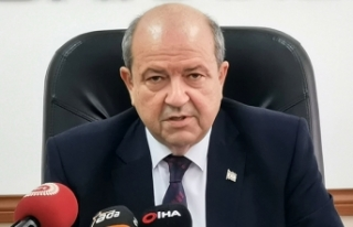 KKTC Cumhurbaşkanı Tatar'dan Cumhurbaşkanı...