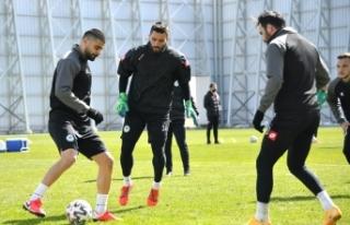 Konyaspor, M. Başakşehir maçı hazırlıklarını...