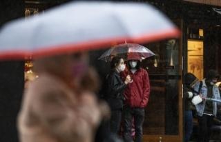 Marmara Bölgesi'nde aralıklı yağmur ve sağanak...