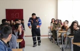 MEB afet ve acil durumlara karşı öğretmenlerden...