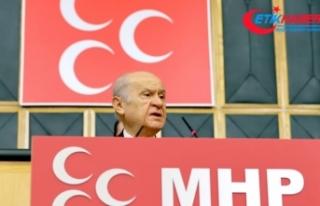 MHP Lideri Bahçeli: Biz PKK eşittir HDP diyorduk,...