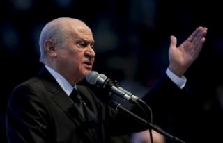 MHP Lideri Bahçeli: Bildiride imzası bulunan amirallerin...