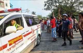 Myanmar'da darbe karşıtı protestolarda ölenlerin...