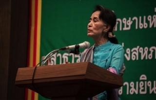 Myanmar'ın devrik lideri Suu Çii'nin gözaltı...