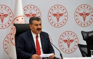 """Sağlık Bakanı Koca: """"100 milyondan fazla doz..."""