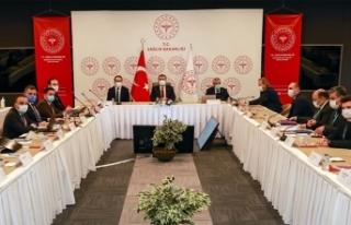 Sağlık Bakanı Koca, İstanbul'daki sağlık...