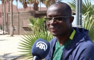 Senegal Futbol Federasyonu Başkanı Senghor'a...