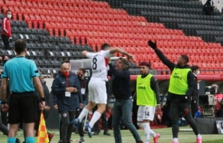 Süper Lig: Gaziantep FK: 2 - Gençlerbirliği: 1...