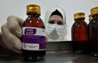 Suriye'nin kuzeyindeki Afrin'de ilaç fabrikası...