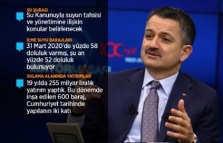 Tarım ve Orman Bakanı Pakdemirli: İstanbul, İzmir...