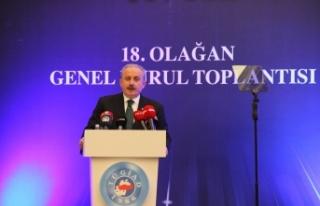 TBMM Başkanı Mustafa Şentop: ''Salgında Türkiye...