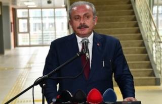 TBMM Başkanı Şentop: (Güvenlik soruşturması...