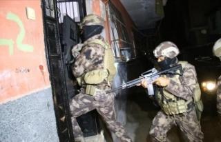 Adana'da terör örgütü PKK/KCK operasyonunda...