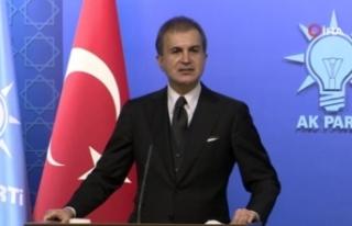 AK Parti Sözcüsü Çelik: Rum kesiminin AB'yi...