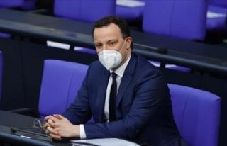 Almanya Sağlık Bakanı Kovid-19'a karşı ikinci...