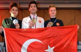 Avrupa Taekwondo Şampiyonası'nda 1 altın, 2 gümüş
