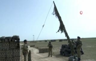 Azerbaycan ve Türkiye muhabere birliklerinin ortak...
