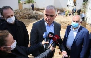 Bakan Ersoy: Eserlerimizi Bodrum Sualtı Arkeoloji...