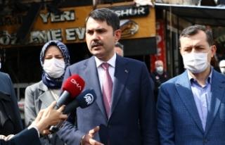 """Bakan Kurum: """"Kanal İstanbul Türkiye'nin gücüne..."""