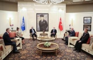BM 75. Genel Kurul Başkanı Bozkır, Ankara'ya...