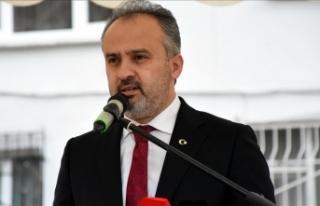 Bursa Büyükşehir Belediye Başkanı Aktaş'ın...