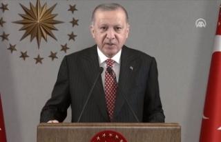 Cumhurbaşkanı Erdoğan: 2021 senesini ülkemiz ve...