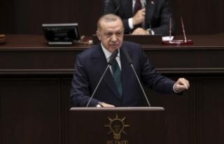 Cumhurbaşkanı Erdoğan: Emekli generallerin merkezinde...