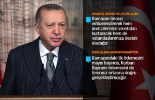 Cumhurbaşkanı Erdoğan: Kovid-19'un üstesinden...