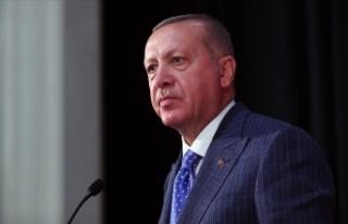 Cumhurbaşkanı Erdoğan, şehit ailesine başsağlığı...