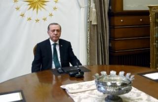 Cumhurbaşkanı Erdoğan'ın Charles Michel ve Ursula...