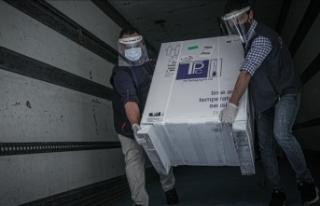 DSÖ'nün gönderdiği Kovid-19 aşıları İdlib'e...