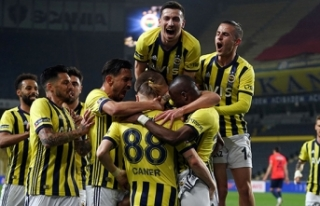 Fenerbahçe'nin MKE Ankaragücü maçı kamp...