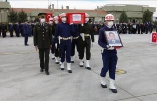 Konya'da Türk Yıldızları uçağının düşmesi...