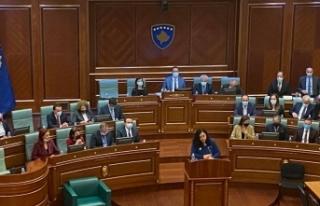 """Kosova Cumhurbaşkanı Osmani: """"Bugün Kosova bir..."""
