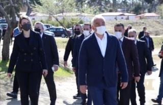 Kültür ve Turizm Bakanı Ersoy Arnavutluk'ta Karavasta...
