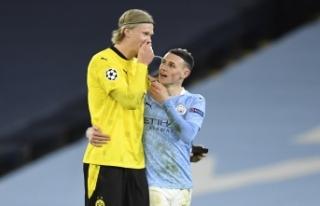 Manchester City galibiyeti 90'da aldı