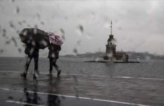 Meteorolojiden İstanbul ve çevresi için yağış...