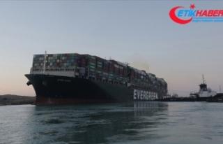 Mısır Süveyş Kanalı'nın günlerce kapanmasına...