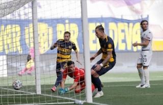 MKE Ankaragücü, 2 yıl sonra 5 maçlık yenilmezlik...