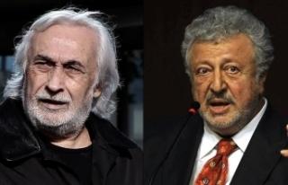 Müjdat Gezen ve Metin Akpınar'a 'Cumhurbaşkanına...